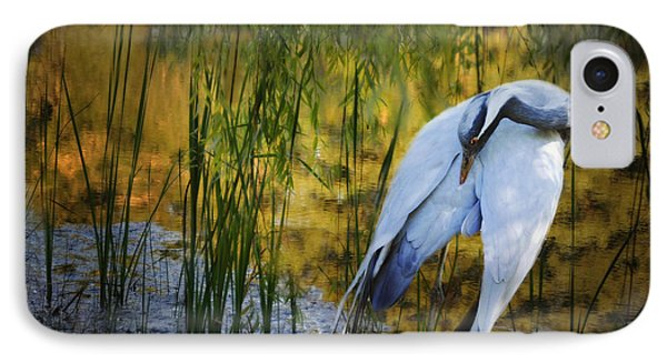 Zen Pond Phone Case by Melinda Hughes-Berland