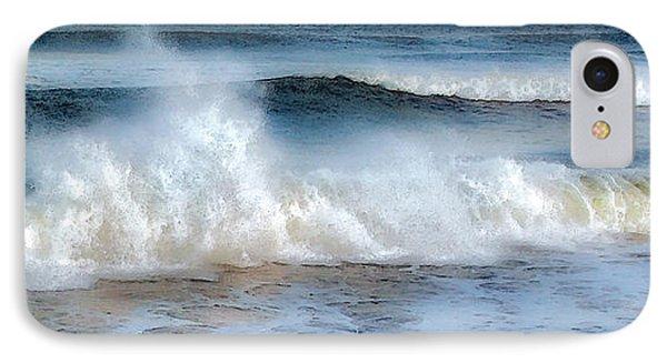 Zen Wave IPhone Case by Karen Lynch