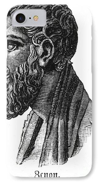 Zeno Of Elea (c495-c430 B.c.) Phone Case by Granger