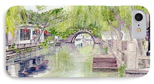 Zhou Zhuang Watertown Suchou China 2006 IPhone Case