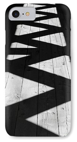 Zigzag  IPhone Case by Luke Moore