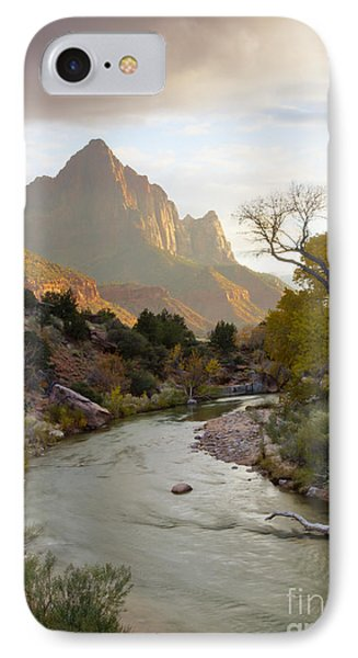 Zion View Phone Case by Idaho Scenic Images Linda Lantzy