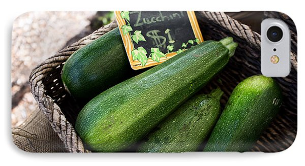 Zucchini Phone Case by Tanya Harrison