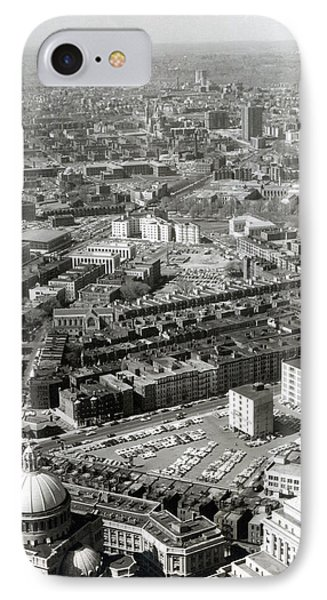 1965 Aerial View Of Boston No.1 IPhone Case