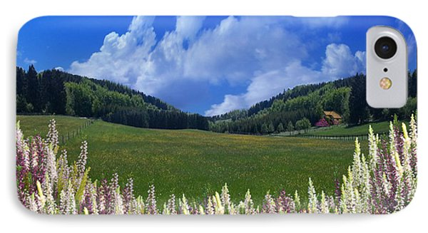 IPhone Case featuring the photograph  A Beautiful View by Bernd Hau