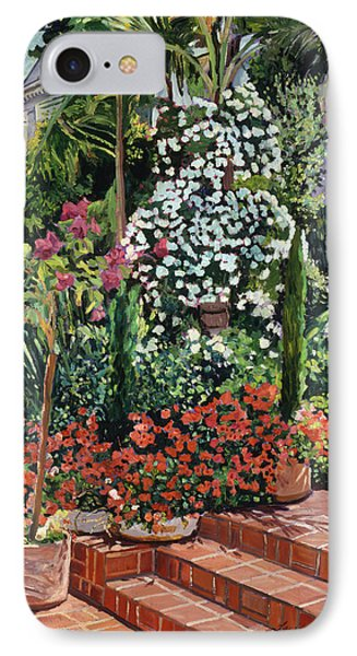 Beverly Hills iPhone 7 Case -  A Garden Approach by David Lloyd Glover