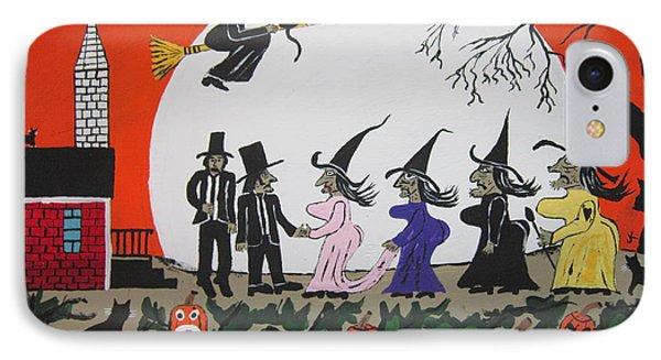 A Halloween Wedding IPhone Case by Jeffrey Koss