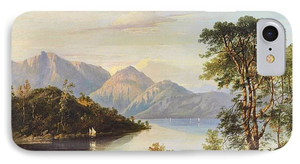 A Highland Loch Landscape IPhone Case