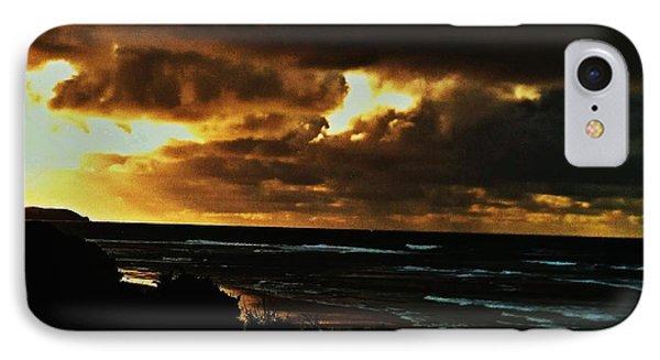 A Stormy Sunrise IPhone Case by Blair Stuart