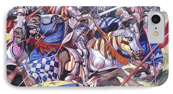 Agincourt The Impossible Victory 25 October 1415 IPhone Case by Ron Embleton