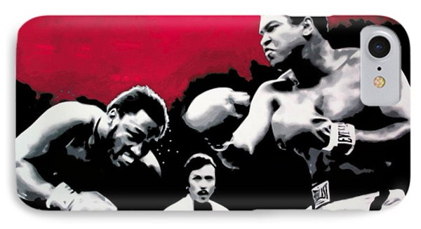 - Ali Vs Fraser - Phone Case by Luis Ludzska