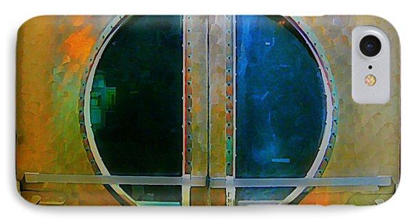 Art Deco Door In Halifax Nova Scotia Phone Case by John Malone