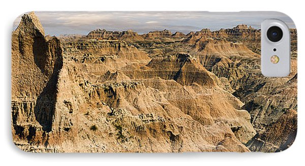 IPhone Case featuring the photograph  Badlands South Dakota by John Hix