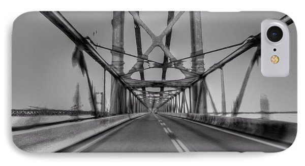 Baybridge At Speed  IPhone Case by Rrrose Pix
