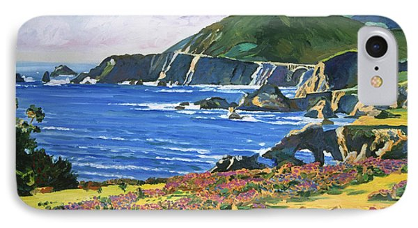 Big Sur IPhone Case by David Lloyd Glover