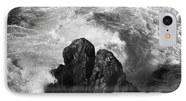Black And White Sea IPhone Case by Stefano Senise