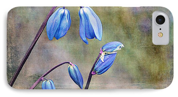 Bluebells And Beyond IPhone Case by Nina Silver