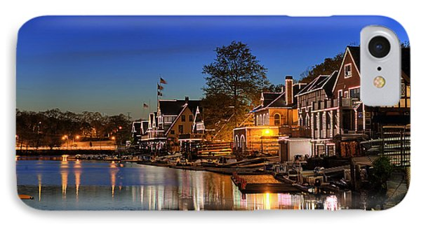 Boathouse Row  Phone Case by John Greim