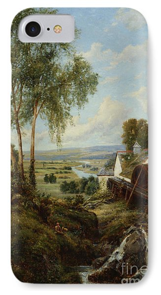 Bucolic Scene IPhone Case by MotionAge Designs