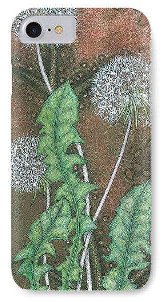 Dandelion IPhone Case by Sandra Moore