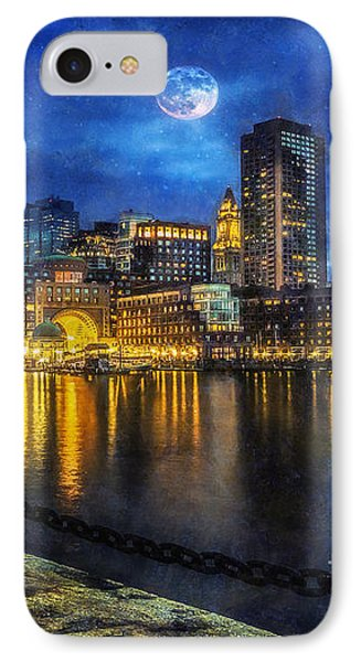 Downtown At Night IPhone Case by Ian Mitchell