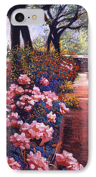 English Tea Roses IPhone Case by David Lloyd Glover