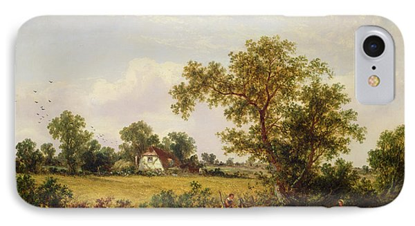 Essex Landscape  Phone Case by James Edwin Meadows