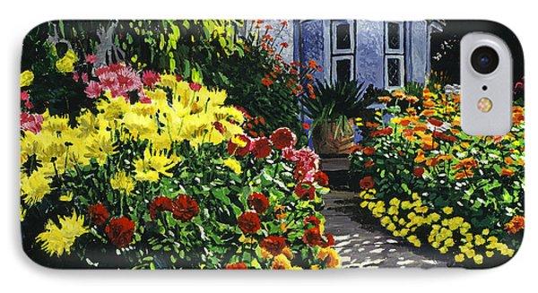 Garden Shadows IPhone Case by David Lloyd Glover