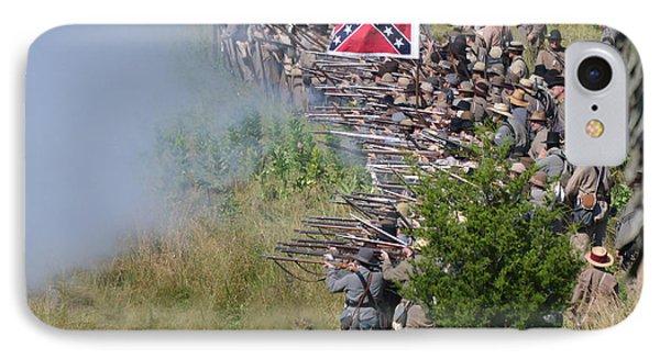 Gettysburg Confederate Infantry 8769c IPhone Case