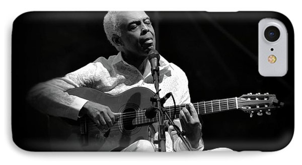 Gilberto Gil   Black And White IPhone Case