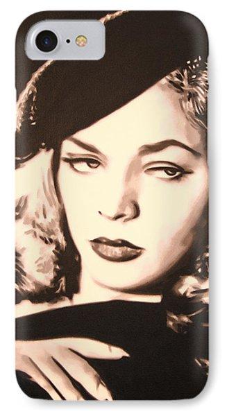 - Lauren Bacall - IPhone Case