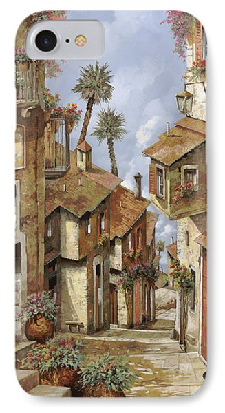 Le Palme Sul Tetto IPhone Case by Guido Borelli