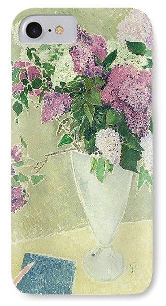 Lilacs Phone Case by Glyn Warren Philpot
