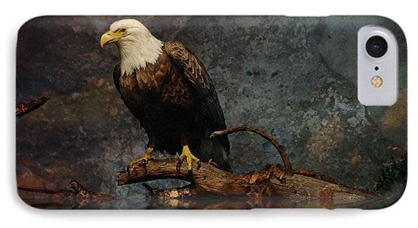 Magestic Eagle  IPhone Case by Elaine Manley