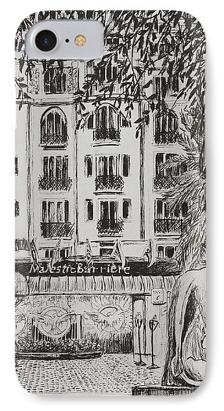 Majestic  Cannes IPhone Case by Vincent Alexander Booth
