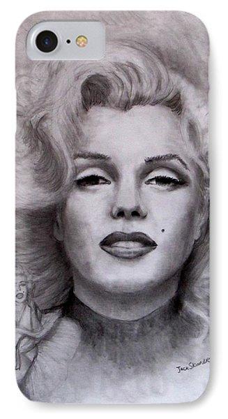 Marilyn Phone Case by Jack Skinner