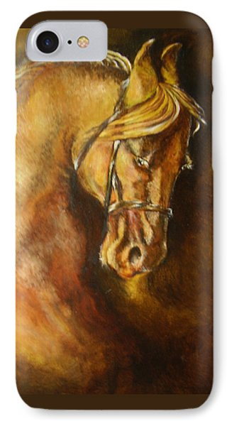 A Winning Racer Brown Horse Phone Case by Remy Francis