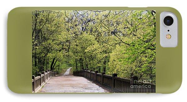 Matthiessen State Park In Spring IPhone Case by Paula Guttilla