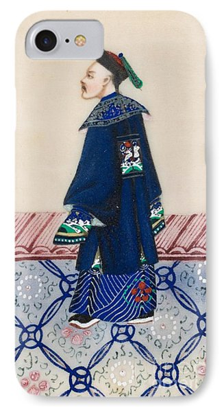 Men In Traditional Costume IPhone Case by MotionAge Designs