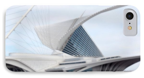 IPhone Case featuring the photograph  Milwaukee Art Museum by Kay Novy