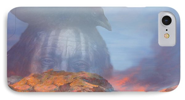 ' Old Fire Eyes Returns ' IPhone Case