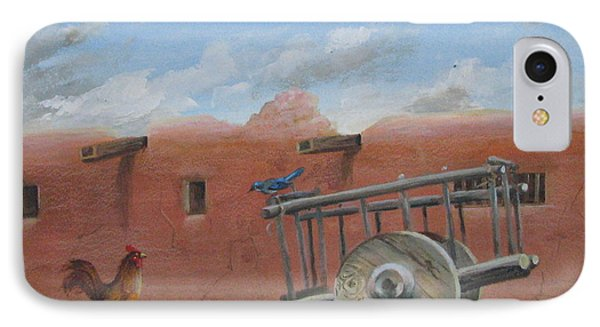 Old Spanish Cart  IPhone Case by Oz Freedgood