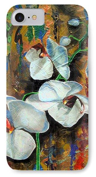Orchid Yo Phone Case by Laura Pierre-Louis