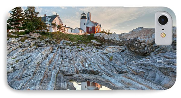 Pemaquid Point Reflection Phone Case by Susan Cole Kelly