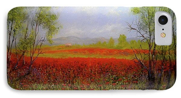 Poppie Morning 2 IPhone Case