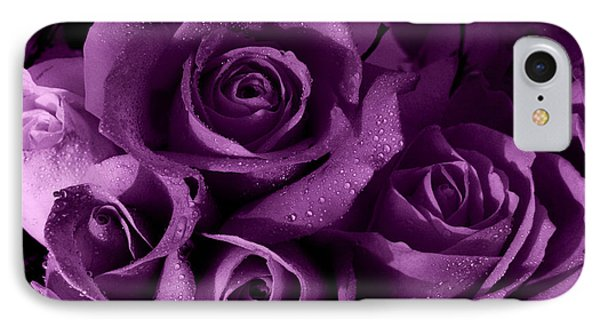 Purple Haze Phone Case by Nancie DeMellia