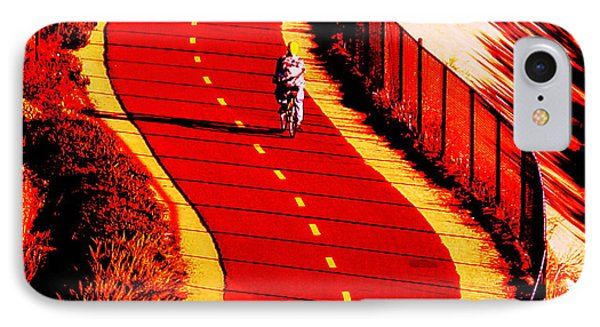 IPhone Case featuring the photograph  Red Path  by John King