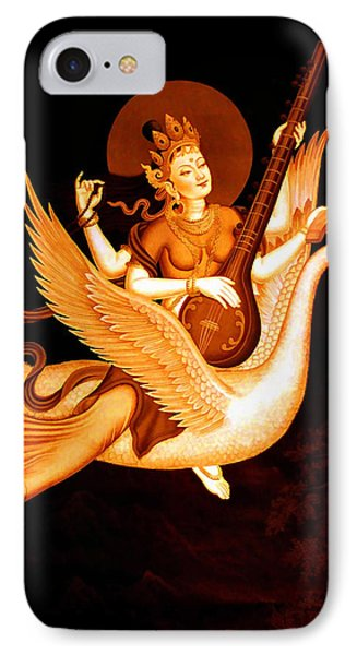Saraswati 4 IPhone Case by Lanjee Chee