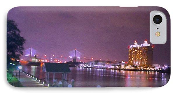 Savannah Riverfront IPhone Case by Art Spectrum