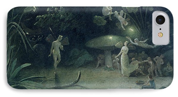 Scene From 'a Midsummer Night's Dream IPhone Case by Francis Danby